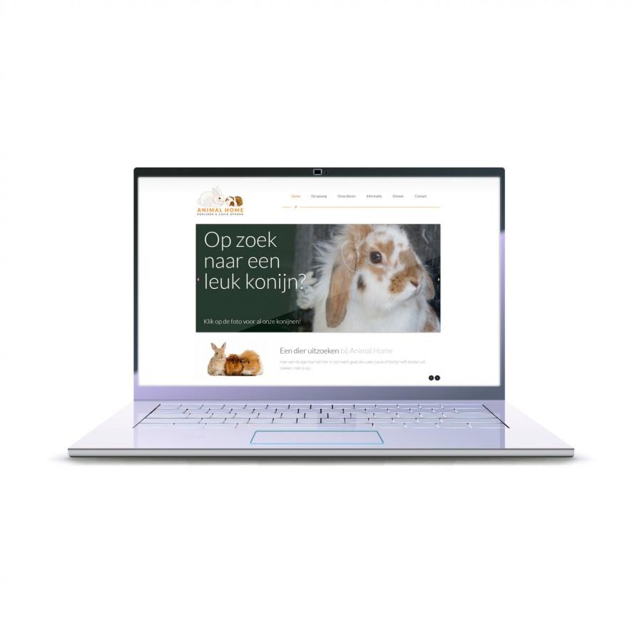 nieuwe website als donatie