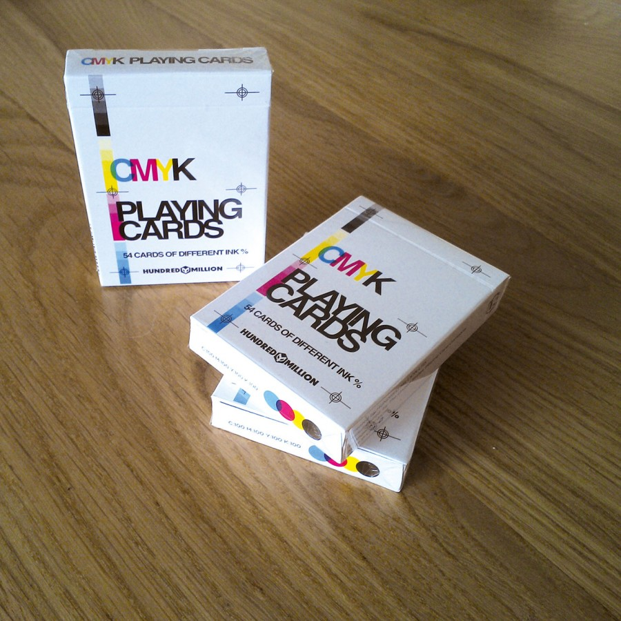 cmyk playing cards van hundred million