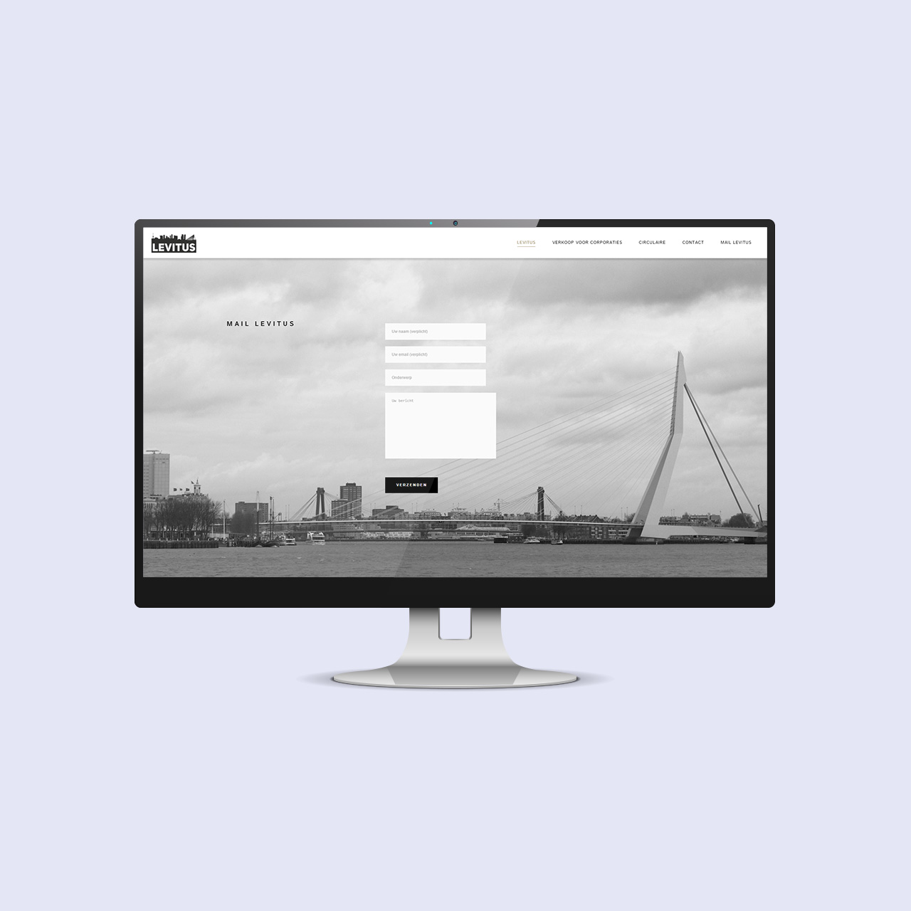 levitus one page website