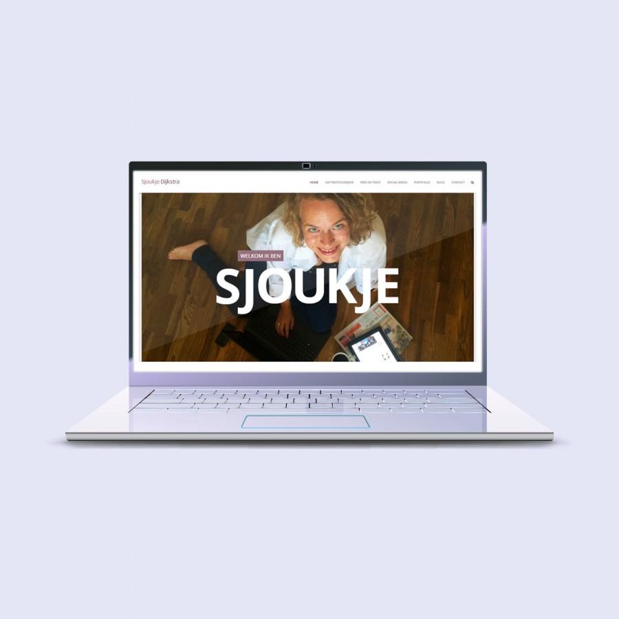 sjoukje dijkstra logo en website