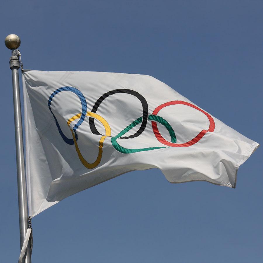 de Olympische Spelen en haar logo's