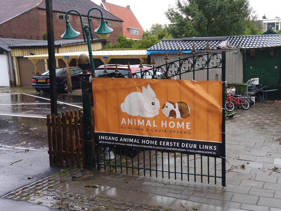Bewegwijzering Animal Home