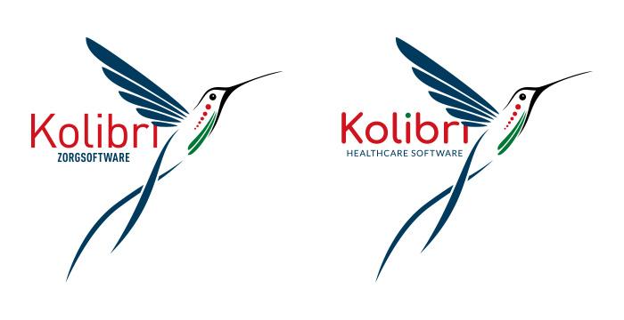 Kolibri logo oud vs nieuw © i-nicole